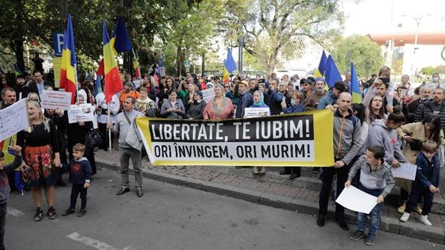 Proteste impotriva purtarii mastii de protectie in Bucuresti! ⋆ Bucuresti Business - Despre afaceri. Zi de zi